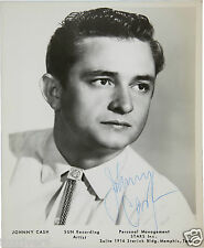 JOHNNY CASH Signed Photograph - Film Star / Country Singer & Actor 10x8