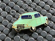 PINS PIN BADGE CAR CITROEN DS BLEUE