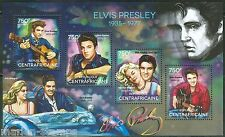 CENTRAL AFRICA  2014 ELVIS PRESLEY  SHEET MINT NH