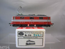 HAG HO SCALE NR 210 SWISS EXPRESS SBB Re 4/4 II ELECTRIC ENGINE 11103