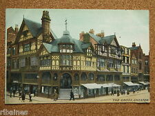 Vintage Postcard: Chester The Gross (The Rows) Lewis's, Shops/Architctural