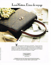 PUBLICITE ADVERTISING 0314   1992   LOUIS VUITTON  collection sacs