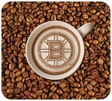 NEW BOSTON BRUINS LATTEAM COFFEE ART MOUSE PAD PACKAGED