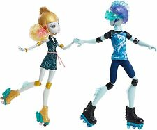 Monster High Lagoona Blue and Gil Weber Wheel Love, Doll 2-Pack