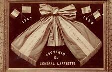 CPA 43 A LA VILLE DE BRIUODE CARTE PHOTO INTITULEE 1757 - 1834 SOUVENIR DU GENER