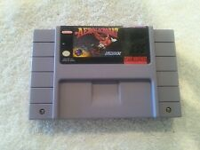 Aero Acrobat Nintendo SNES Super Nintendo Video Game Cartridge Only