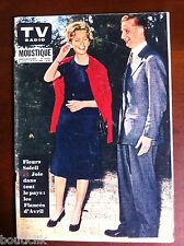 Tv Radio MOUSTIQUE du 26/04/1959; Dona Paola Ruffo Di Calabria et Albert, le Pri