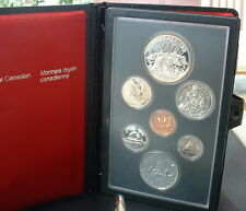 CANADA  1980   PROOF DOUBLE DOLLAR SET  ***7 COINS***