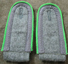 B3T WWII GERMAN HEER ARMY PANZERGRENADIER JR. NCO TUNIC SHOULDER BOARDS-SUBDUED