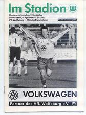 II. BL 94/95 VfL Wolfsburg - Waldhof Mannheim, 08.04.1995
