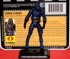 GI.JOE 25TH COBRA COMMANDER HOODED LOOSE COMPLETE