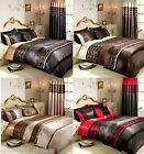 LUXURY LACE BOUTIQUE QUILTED BEDSPREAD THROW WITH 2 PILLOW CASES ~ DOUBLE & KING