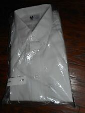 lot NEW Horace Small Professional APPAREL WHITE Uniform Work Shirt L/S sz 16/35