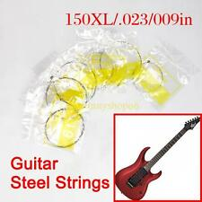 S# New Acoustic Guitar Set of Electric Guitar 6 Steel Strings XL150/.023/009in E