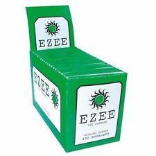 100x Libretti EZEE Verde Cartina Per Sigarette sigarette Formato Standard
