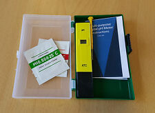 Digital Acid Rain pH Meter soil pH meter, tester, professional with Case