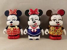 "Minnie Mouse Eachez Variant and Common Disney Vinylmation 3"" Figure Set"