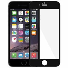 Giozy(TM) 3D CP+ MAX Full Coverage Tempered Glass for Apple iPhone 6/6S (BLACK)