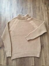 ZARA Women's  Knit Sweater(Camel. US  L/EUR  L)