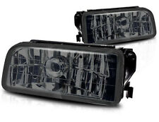1992-1998 BMW E36 3 SERIES OEM REPLACEMENT FOG LIGHTS LAMPS CRYSTAL SMOKED LENS