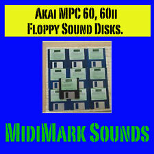 Akai MPC-60, mpc60ii ds/dd Sound Disks -Your Pick mpc60