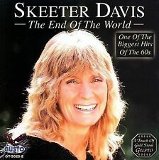 The End of the World [Gusto] by Skeeter Davis (CD, Aug-2006, Good Time Records)