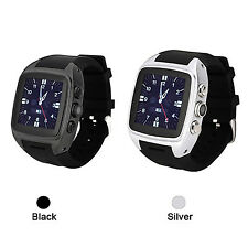 Android 4.4 Bluetooth Smart Watch 3G WIFI SIM Waterproof Phone Mate For iPhone