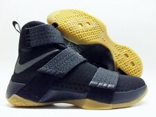 NIKE LEBRON SOLDIER 10 SFG CAVS FINALS BLACK/DARK GREY SIZE MEN'S 8 [844378-009]