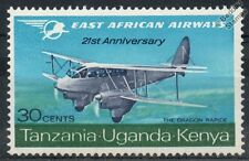 East African Airways de Havilland DH.89 DRAGON RAPIDE Aircraft Stamp