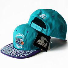 Vintage Starter Charlotte Hornets Snapback Hat Cap sports specialties 1990s NEW