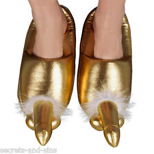Sexy Golden Penis Willy Slippers Size 4,5,6,7,8 Code: 773905