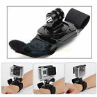 Rotating Hand Wrist Strap Mount for GoPro Hero 4 2 3 3+ Accessories Black Band