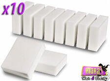 10 Pack Magic Cleaning Sponge Melamine Foam Eraser Stain Dirt  Remover Pad UK