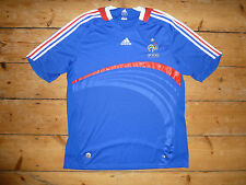 France football Shirt  XL Home Soccer Jersey  2007/08 maillot camiseta maglia