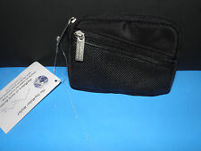 MUTI PURPOSE WALLET W/ZIPPER BLACK 3 1/2 X5 ""