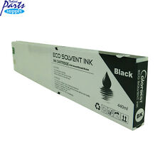 Eco Solvent Black 440ml Ink Cartridge For Roland VS540 VP540 Printers With Chip