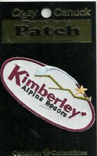 KIMBERLEY ALPINE RESORT, BC CANADA  SOUVENIR PATCH - SKIING