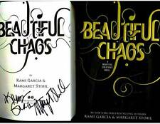 Kami Garcia Margaret Stohl signed Beautiful Chaos 1st printing hardcover book