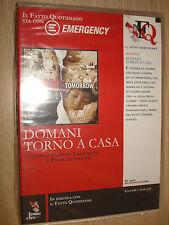 DVD DOMANI TORNO A CASA IL FATTO QUOTIDIANO EMERGENCY VITTIME DI GUERRA