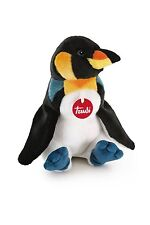Peluche Trudi Pinguino 33cm cod.26672 Top quality made in Italy