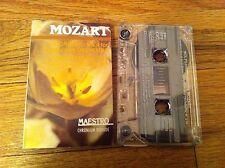Maestro Mozart Concerto 2/4 Violin And Flute Orchestra Classical Cassette Tape