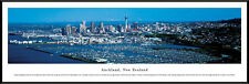 Auckland New Zealand City Skyline City of Sails Framed Poster Picture I
