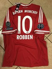 Rare Germany FC bayern Munich Vs Real Madrid Shirt Robben Holland Trikot jersey