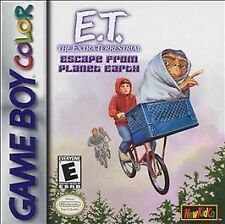 E.T. The Extra-Terrestrial: Escape From Planet Earth (Nintendo Game Boy...