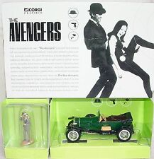 "Corgi Toys 1:43 BENTLEY ""THE AVENGERS""  + John Steed Fig. TV Movie Model Car MIB"