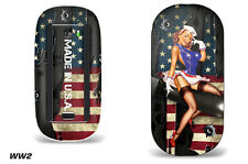 Skin Decal Wrap for Apple Magic Mouse 1 Smart Mouse Graphic Protector WW2 BOMBER
