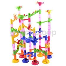105pc Marble Run Construction Maze Race Track Building Children Toy Game Set