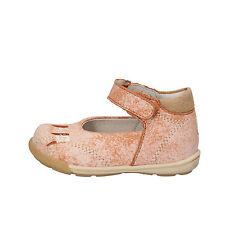 scarpe bambina BALDUCCI 17 EU ballerina arancione pelle camoscio AF709