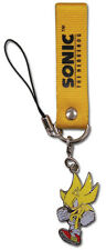 **License** Sonic The Hedgehog SD Supersonic Metal Phone Charm Keychain #8765