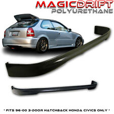 96-00 Honda Civic EK9 Type R CTR REAR Bumper PU Lip 3DR (Urethane)